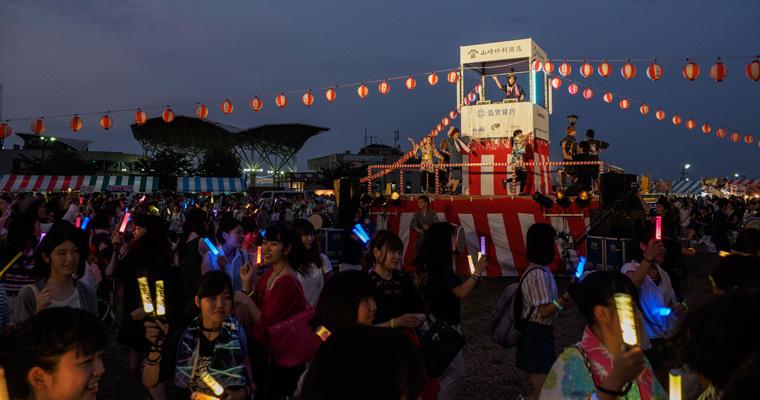 びわ湖マザレ祭り
