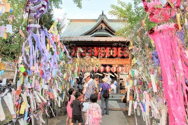 七夕神社の夏まつり