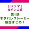 【ドラマ】「ルパンの娘」1話のネタバレストーリー&感想まとめ!