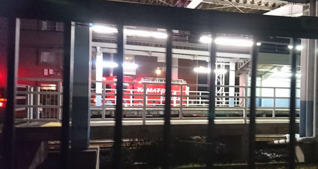 鶴間駅(小田急江ノ島線)で人身事故
