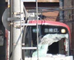 神奈川駅(京急線)で人身事故